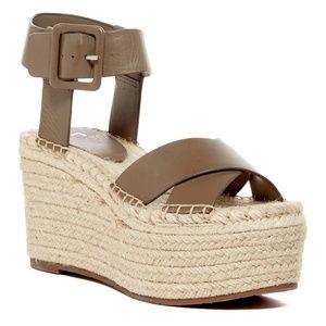 Marc Fisher 'Randall' platform wedge sandal